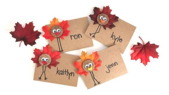 turkey-placecards