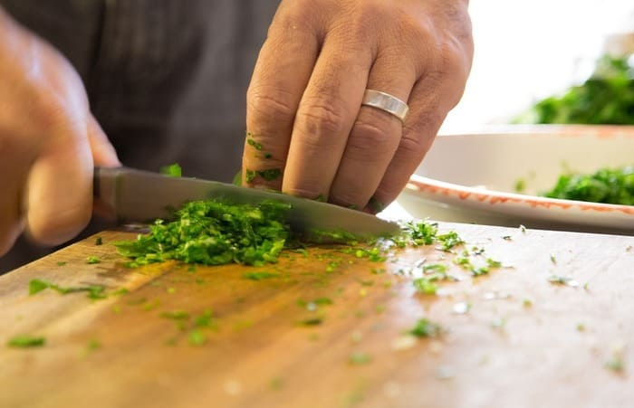 how to freeze parsley preparation